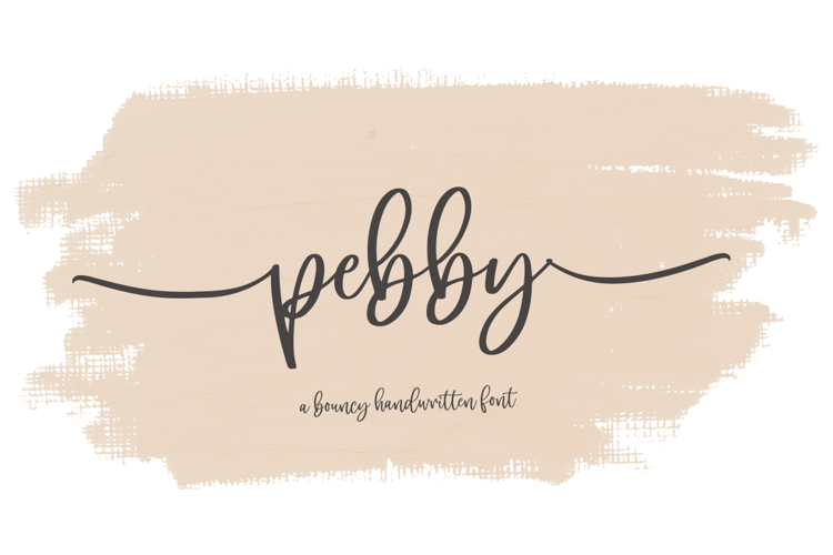 pebby Font