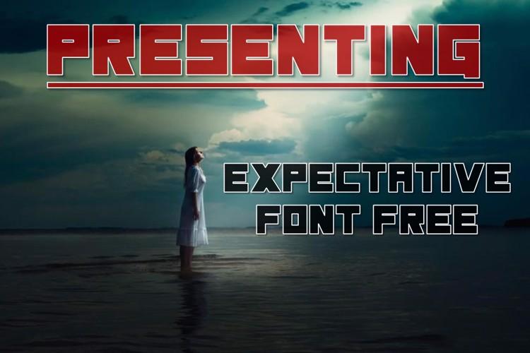 Expectative Font