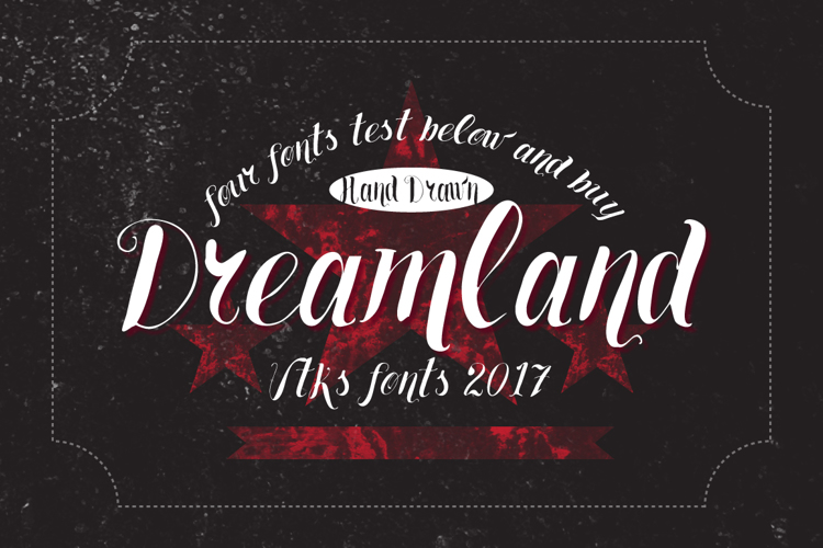 Vtks Dreamland555 Font