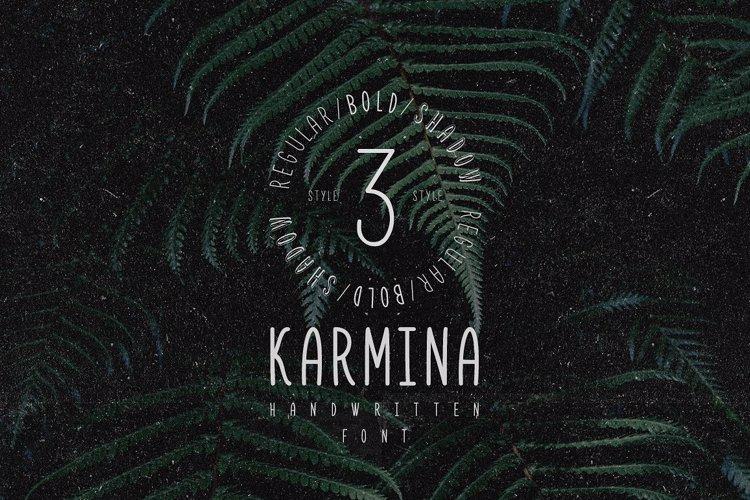 Karmina Bold Font