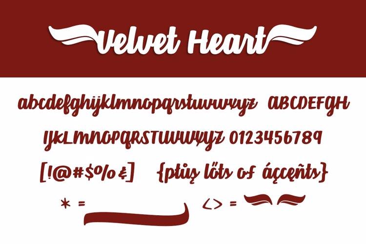 Velvet Heart*  Font