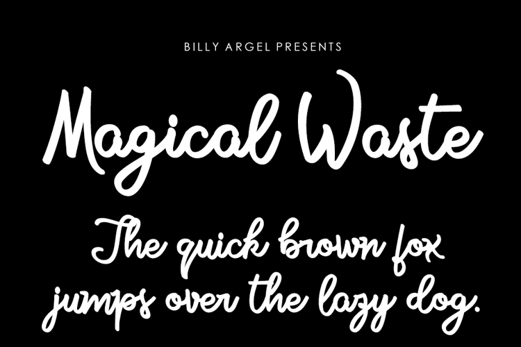 Magical Waste Font