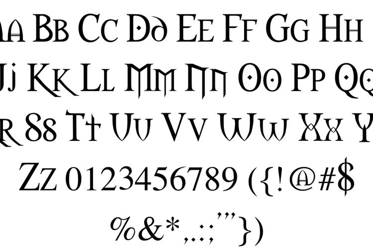 Morpheus Font