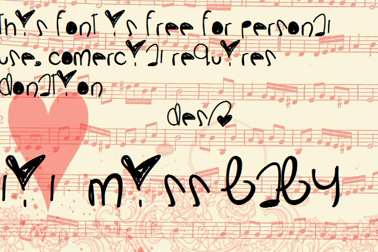 LilMissBaby Font