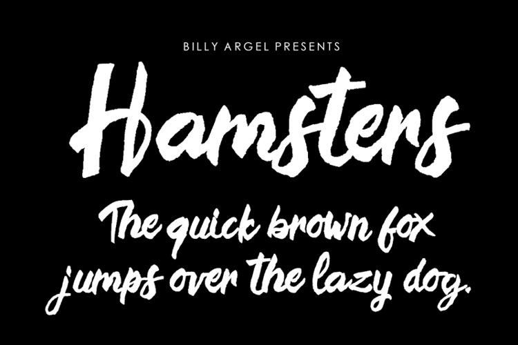 Hamsters Font