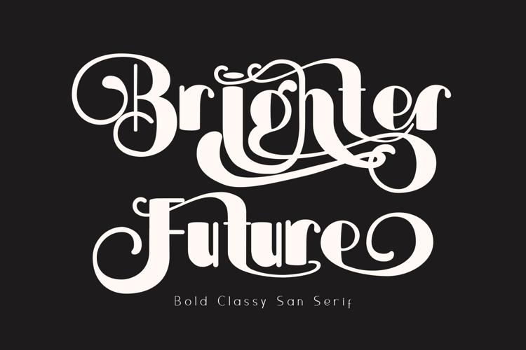 Brightier Font