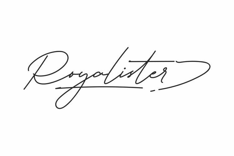 Royalister Font