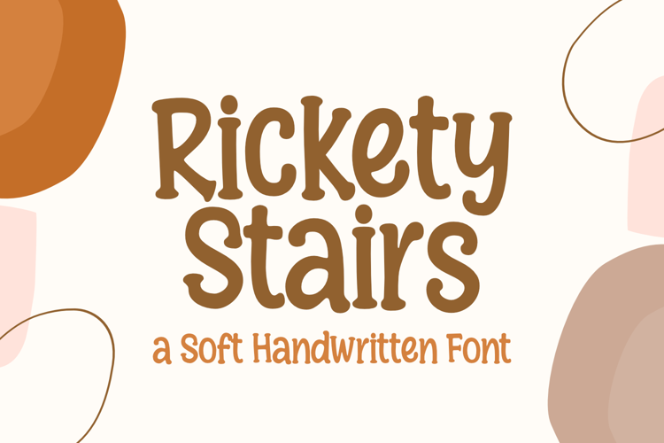 Rickety Stairs Font
