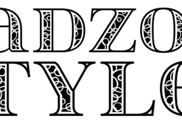 itsadzokeS02 Font