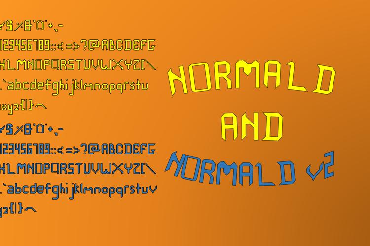 Normald Font