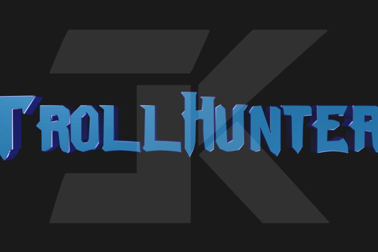 Trollhunters Font