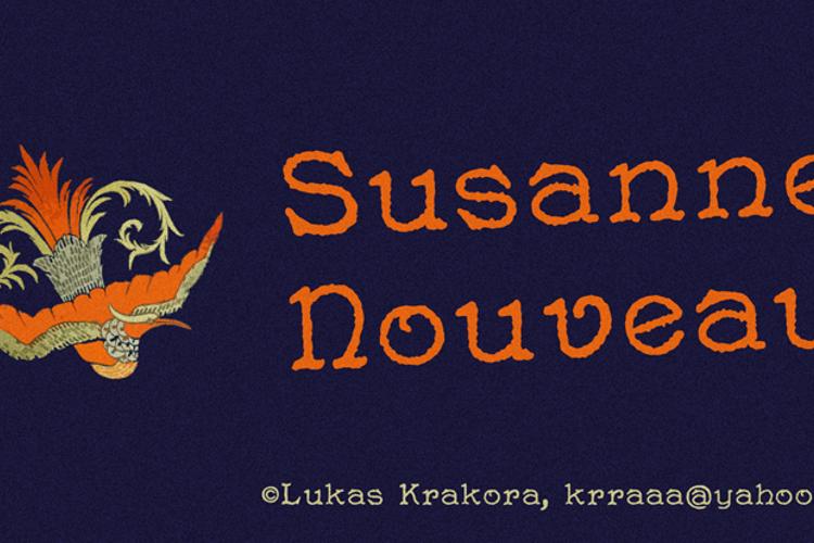 Susanne Nouveau Font