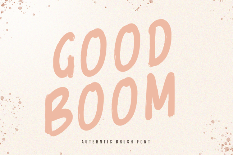 Good Boom Font