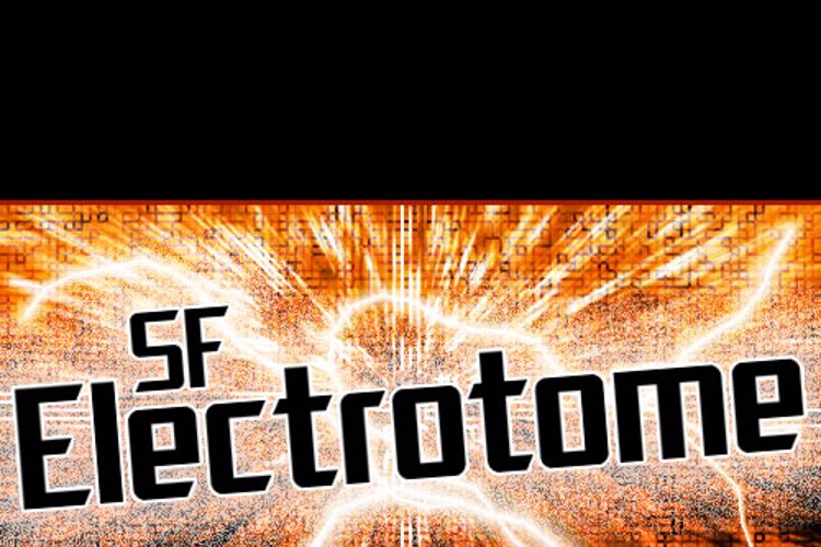 SF Electrotome Font
