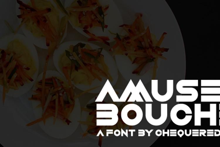 Amuse-Bouche Font