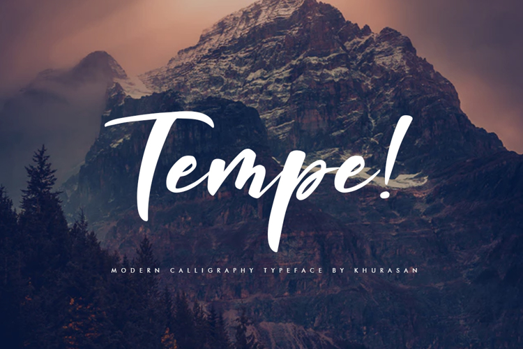 Tempe! Font