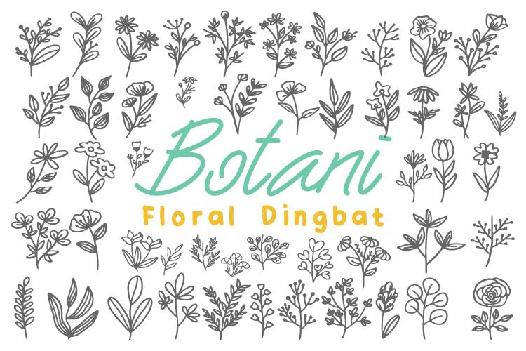 Botani Font