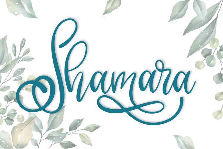Shamara Font