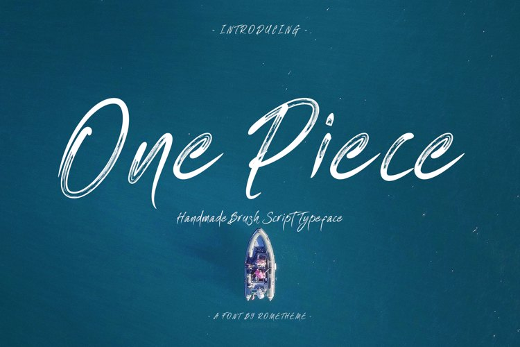 One Piece Font