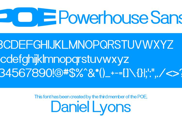 Powerhouse Sans Font