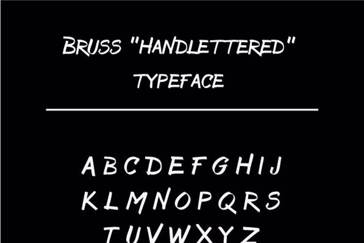Bruss Font