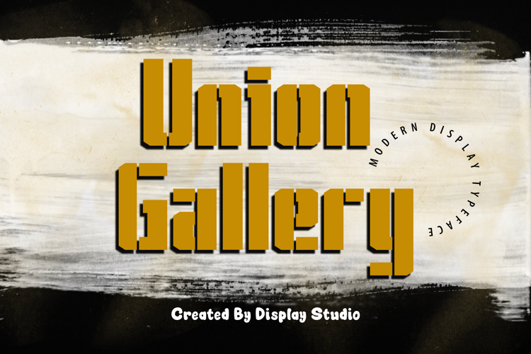 Union Gallery Font