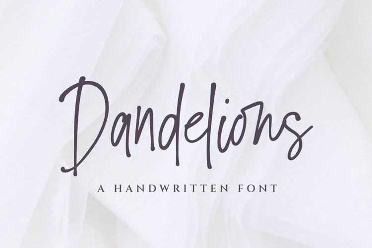 Dandelions _ PERSONAL _ USE _ ONLY Font