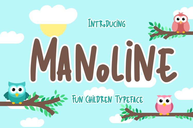 Manoline Font