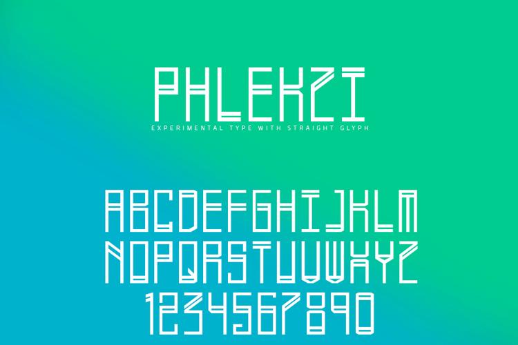 Phlekzi Font