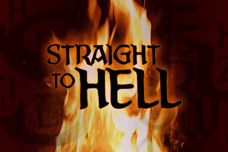 Straight To Hell BB Font