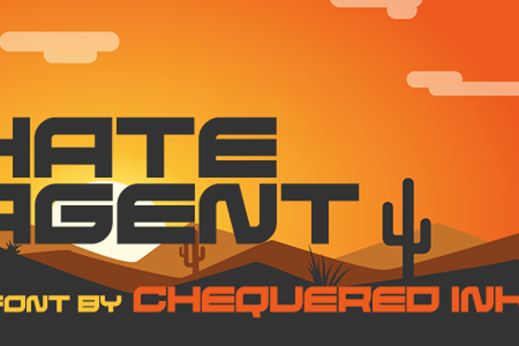 Hate Agent Font