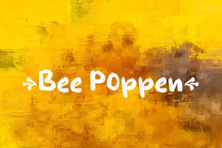 b Bee Pollen Font