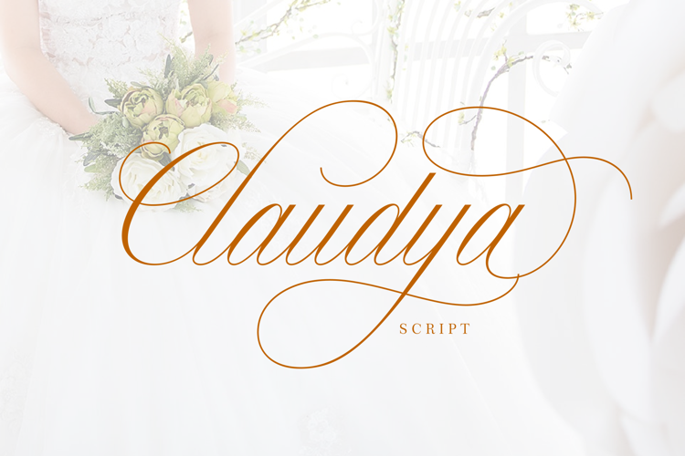 Claudya Script Demo Font