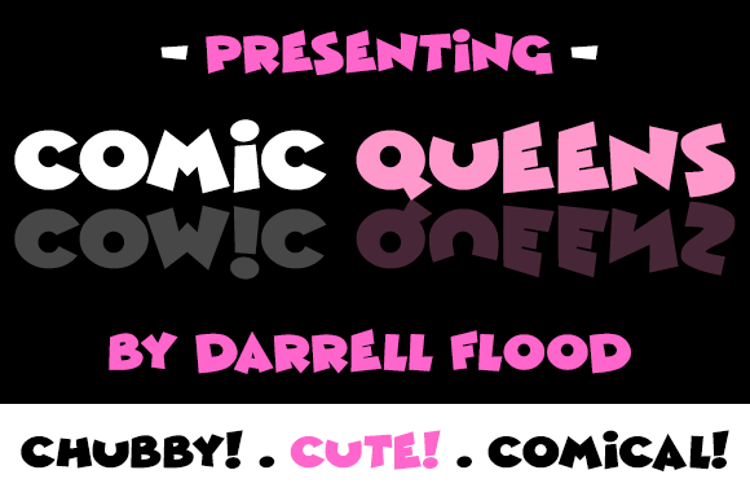 Comic Queens Font