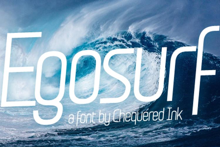 Egosurf Font