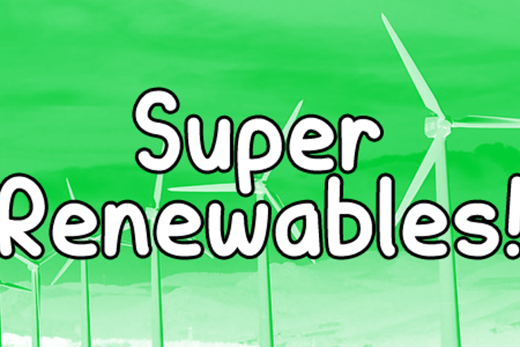 Super Renewables Font