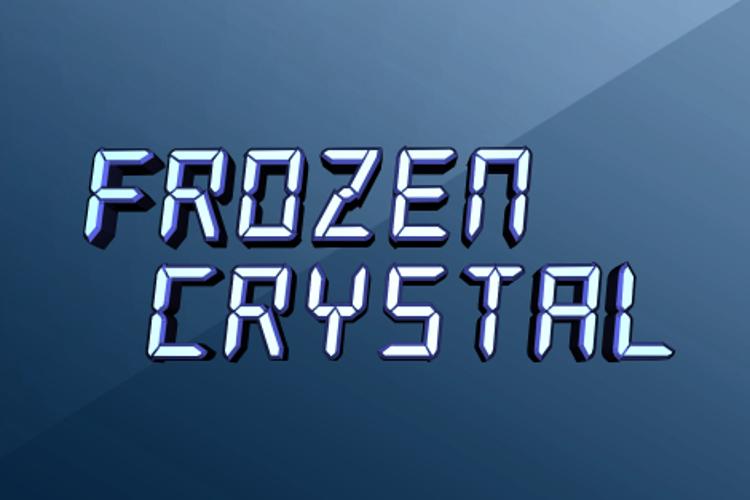 Frozen Crystal Font