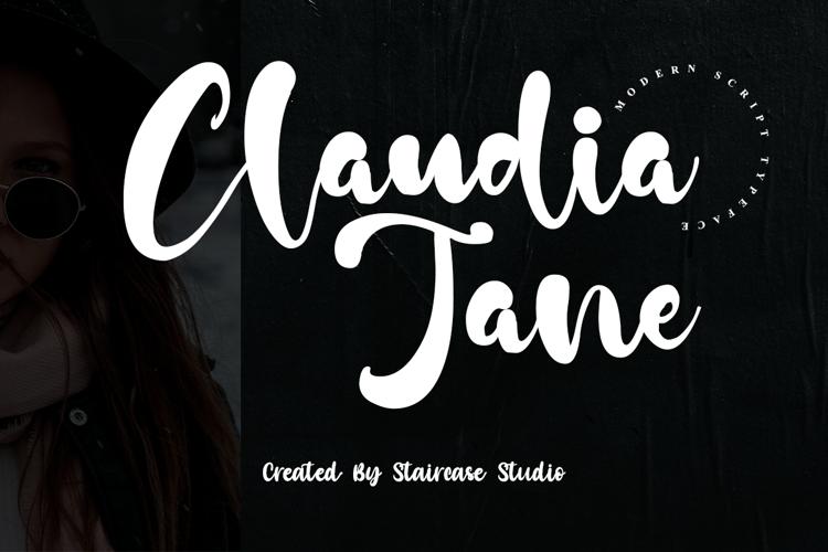 Claudia Jane Font