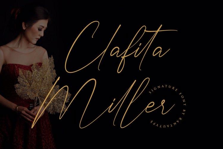 Clafita Miller Font