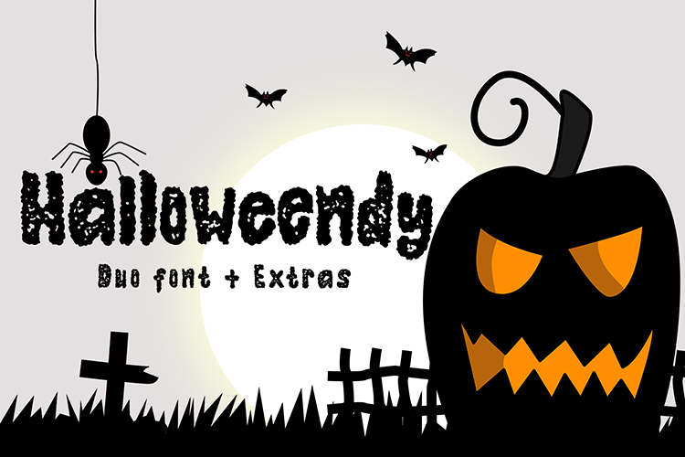 Halloweendy Rough Font