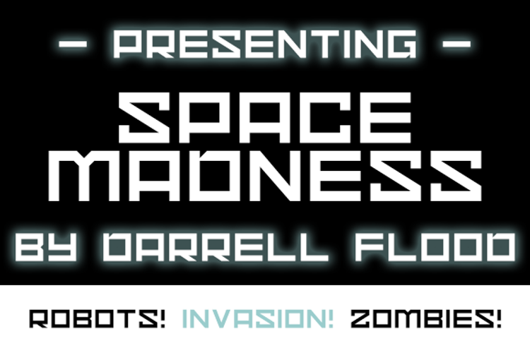 Space Madness Font
