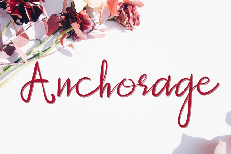 Anchorage Font