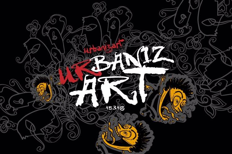 VTKS Urbanizart Font