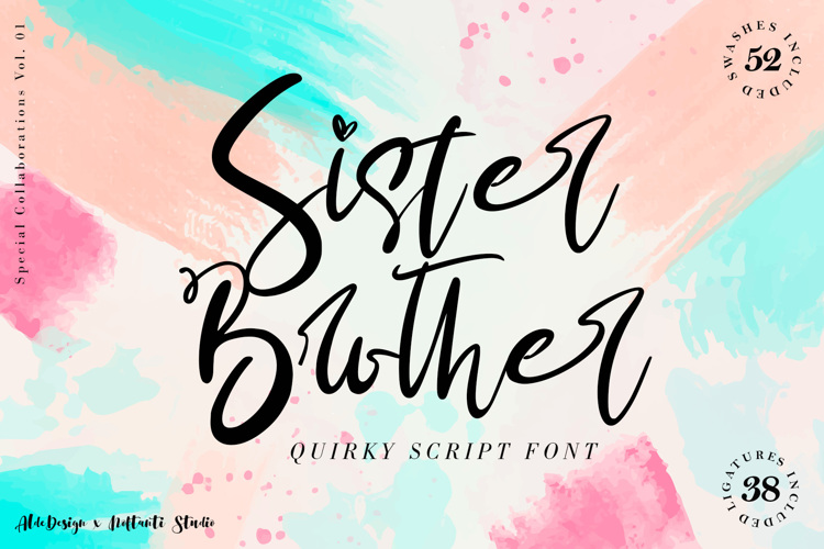Sister & Brother Font