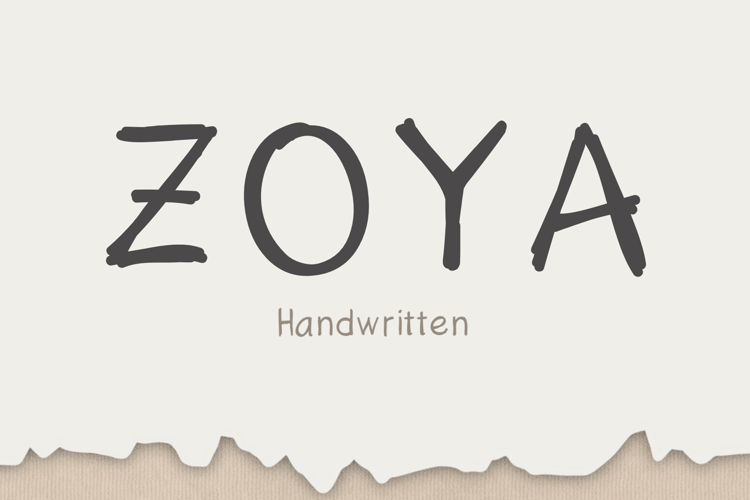 Zoya Font