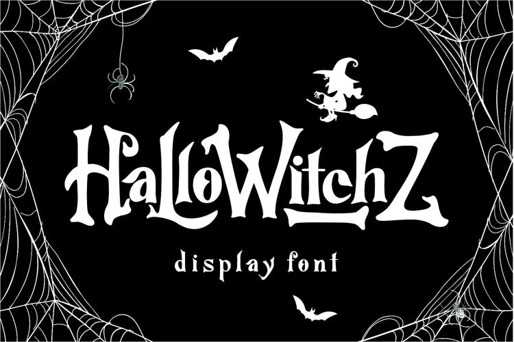 HalloWitchZ Font
