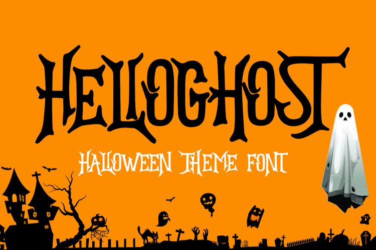 HELLOGHOST Font