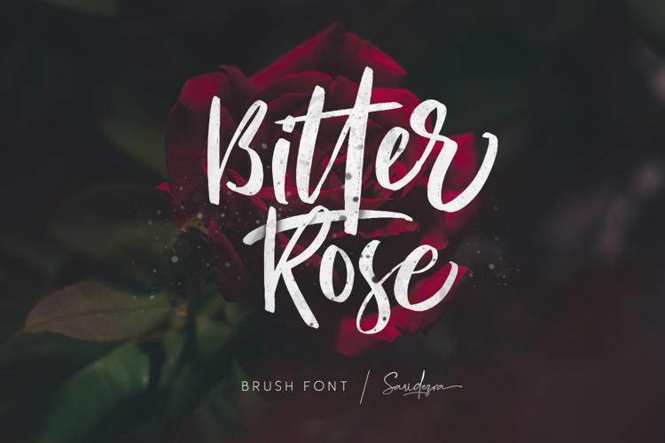 Bitter Rose Font