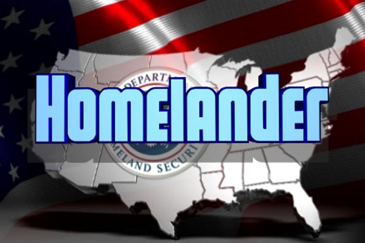 Homelander Font