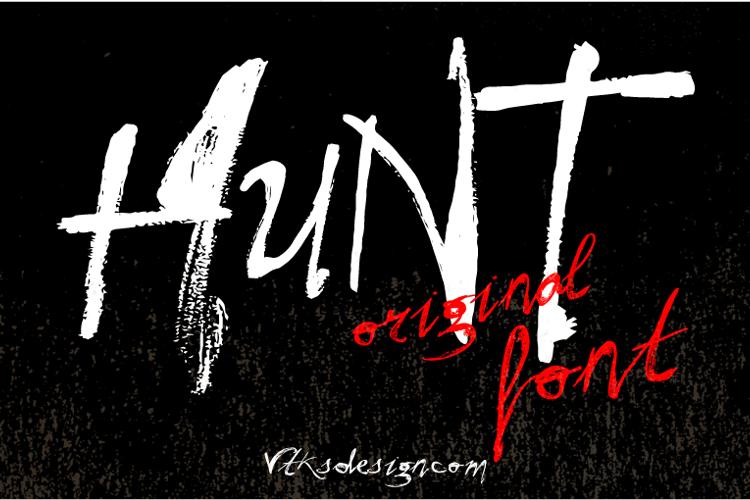 Vtks Hunt Font